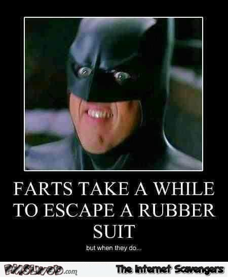 Funny farting batman demotivational – Monday LOL @PMSLweb.com