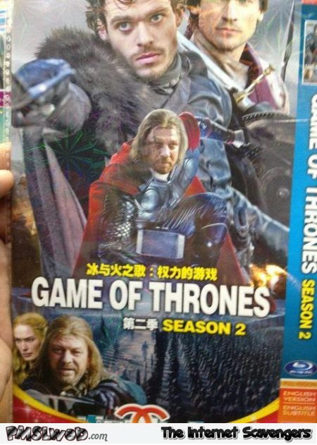 Asian game of thrones fail @PMSLweb.com