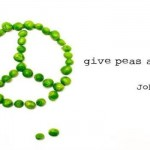 Give peas a chance John Lennon humor – Silly Sunday @PMSLweb.com