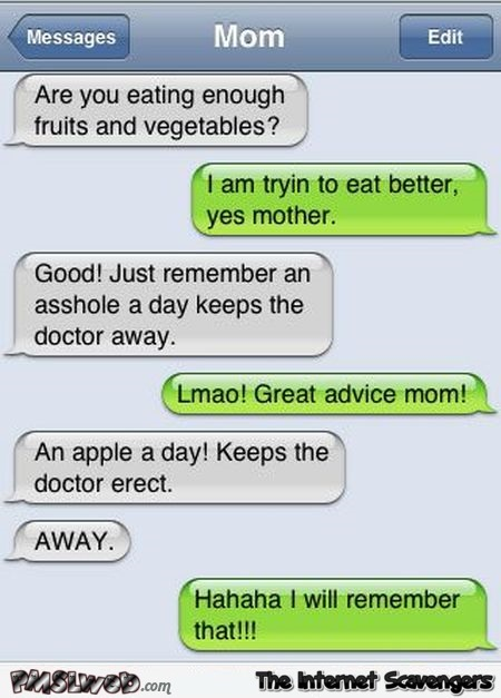 A doctor a day funny autocorrect fail @PMSLweb.com