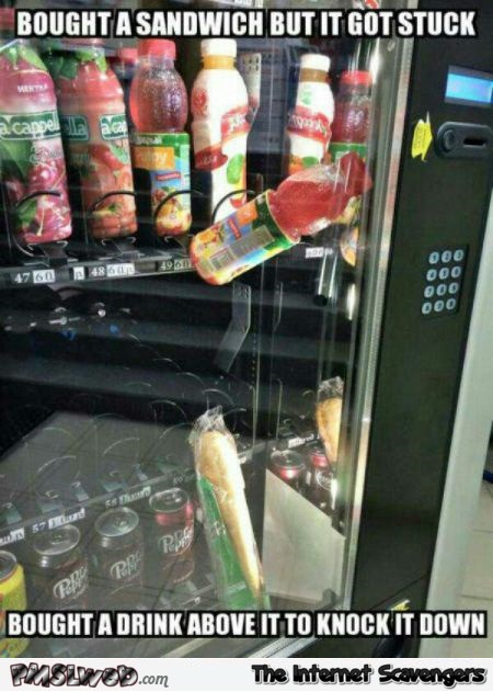 Funny vending machine fail @PMSLweb.com