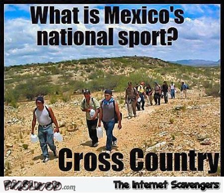 What is Mexico's national sport joke @PMSLweb.com