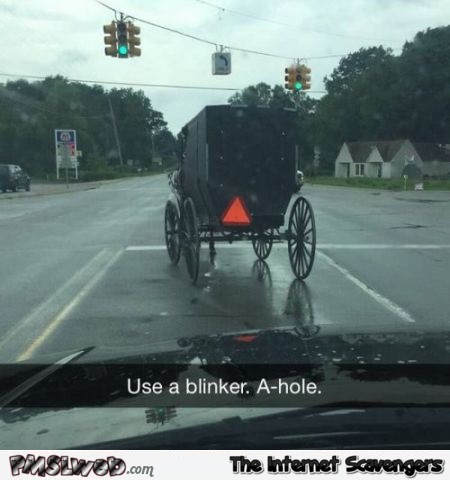 Funny Amish on the road – Crazy Sunday @PMSLweb.com