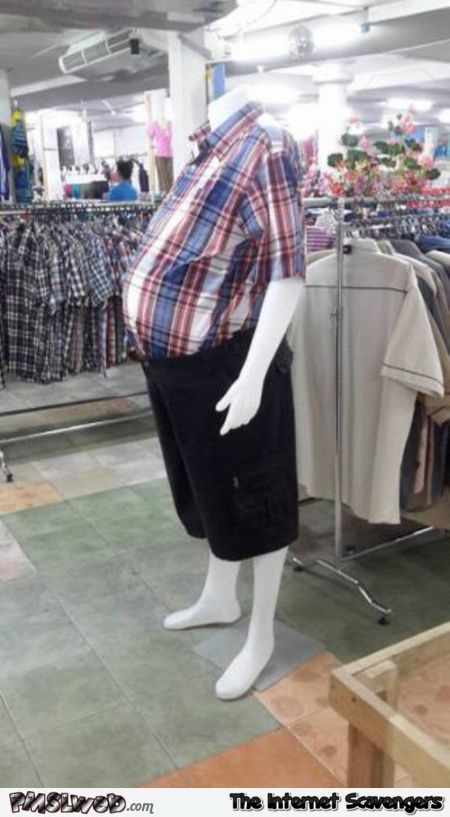 Funny beer belly fashion @PMSLweb.com