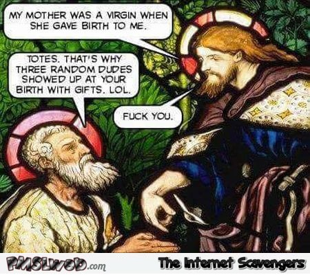 Jesus and the 3 wise men joke – Tuesday funnies @PMSLweb.com