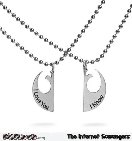 I love you, I know necklaces @PMSLweb.com