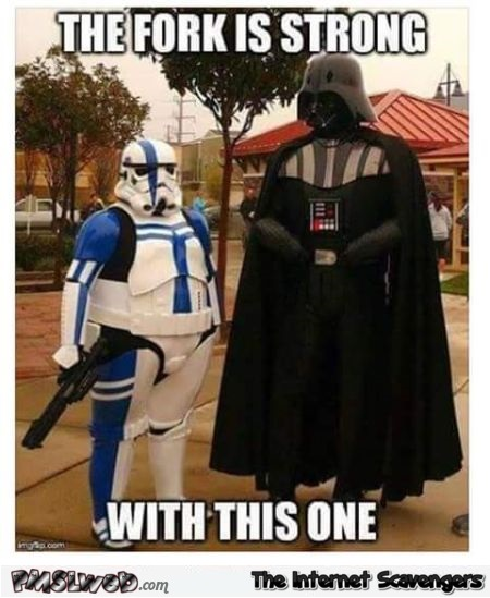 Chubby stormtrooper meme – Thursday humor @PMSLweb.com