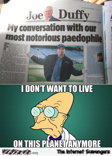Our most notorious pedophile news title fail @PMSLweb.com