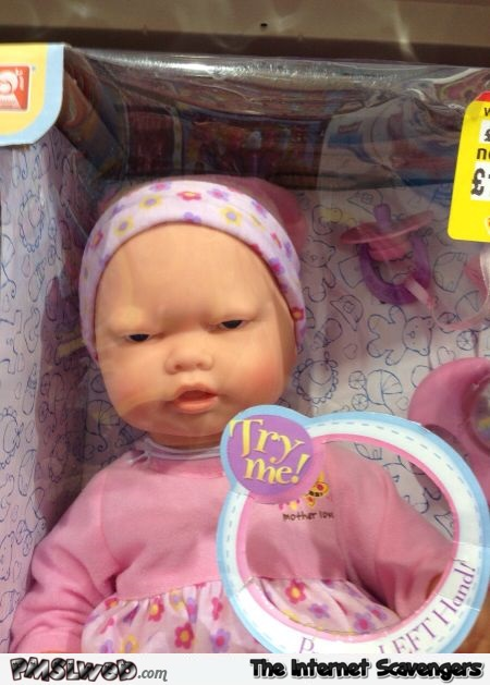 Try me funny toy doll fail @PMSLweb.com