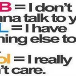 Funny chat abbreviation – LOL pictures @PMSLweb.com