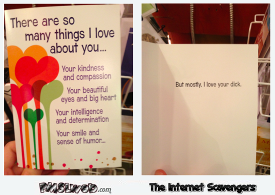 There are so many things I love about you funny card @PMSLweb.com