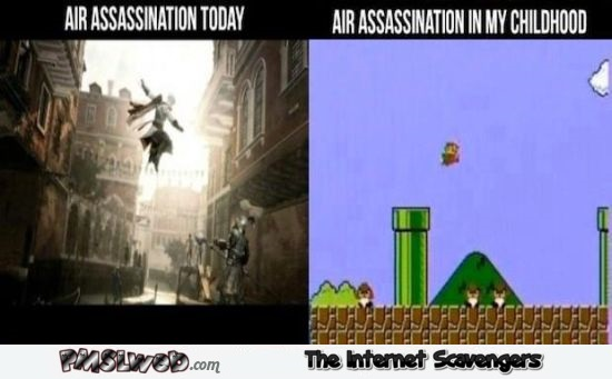Funny gaming air assassination meme @PMSLweb.com