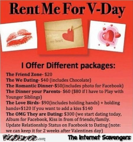 Rent me for V-day humor @PMSLweb.com