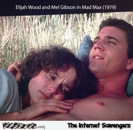 Funny Elijah Wood played in Mad Max @PMSLweb.com