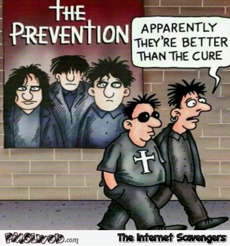 The prevention better than the Cure funny cartoon @PMSLweb.com