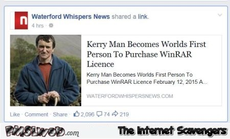 First man to purchase winrar license @PMSLweb.com