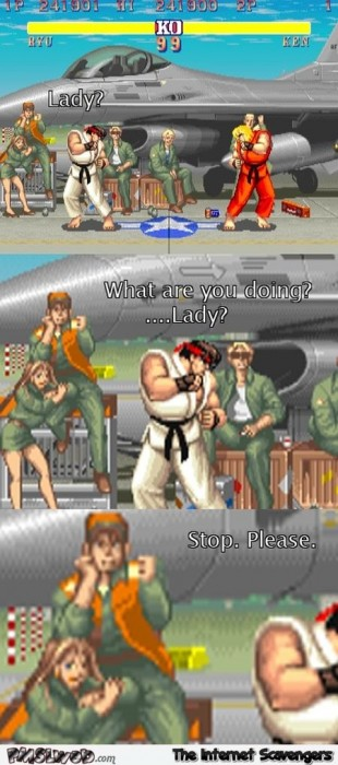 Funny what are you doing street fighter meme