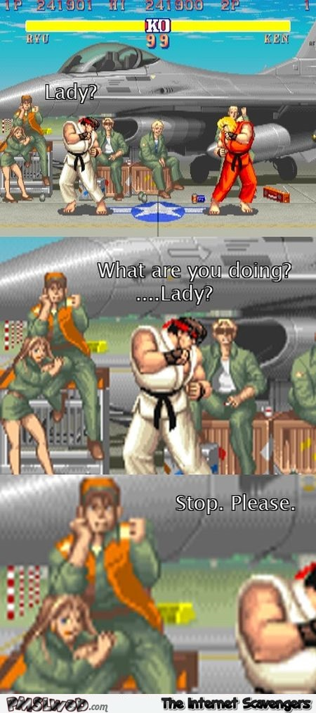 Funny what are you doing street fighter meme – Daily funny pictures @PMSLweb.com