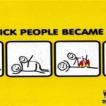 How stick people became extinct @PMSLweb.com