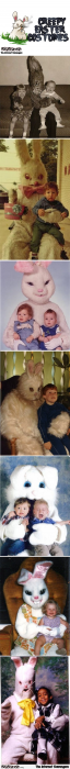 Creepy Easter costumes