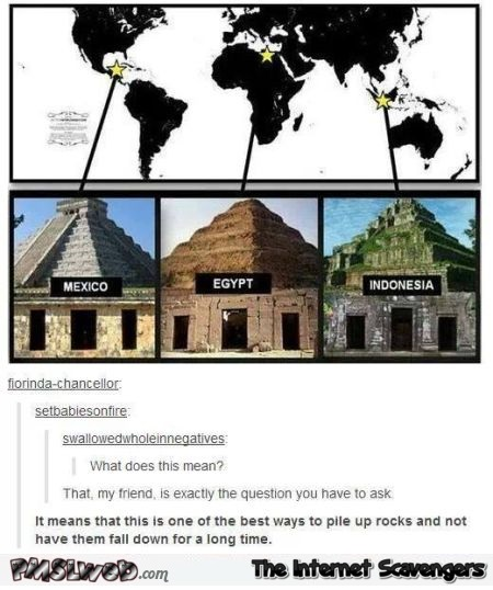 Funny ancient constructions comment @PMSlweb.com