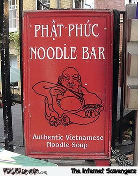 Hilarious noodle bar name @PMSLweb.com