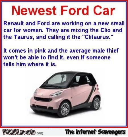 Newest Ford car humor