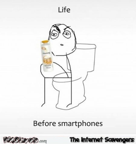 Life before smartphones meme – Tuesday chuckles @PMSLweb.com