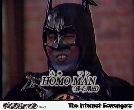 Funny Asian homo Batman @PMSLweb.com