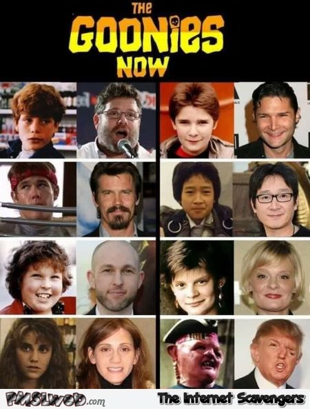 The Goonies now Trump humor @PMSLWeb.com