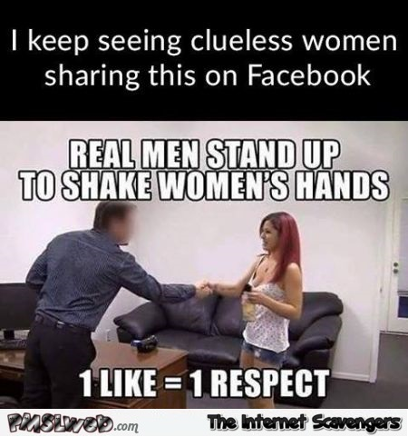 Clueless women keep sharing this humor @PMSLweb.com