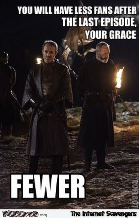Stannis will have less fans funny meme