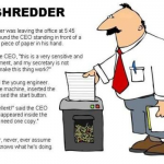 The shredder boss joke – Saturday madness @PMSLweb.com
