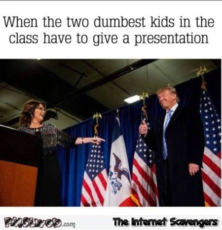When the 2 dumbest kids of the class have to do a presentation humor @PMSLweb.com