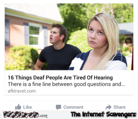 deaf people article funny fail @PMSLweb.com