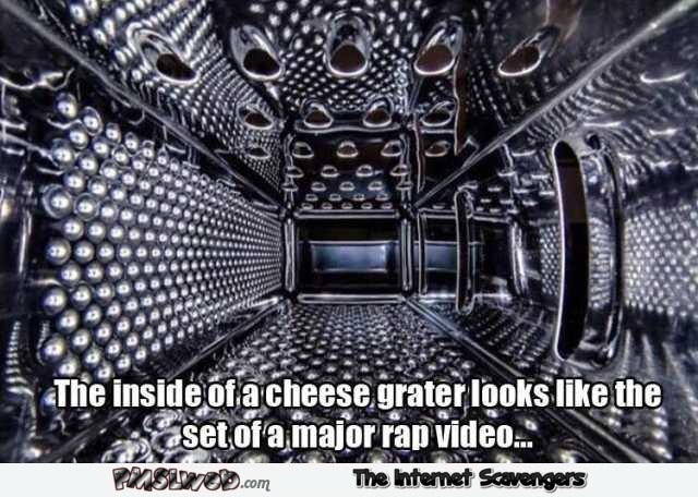 The inside of a cheese grater funny meme @PMSLweb.com