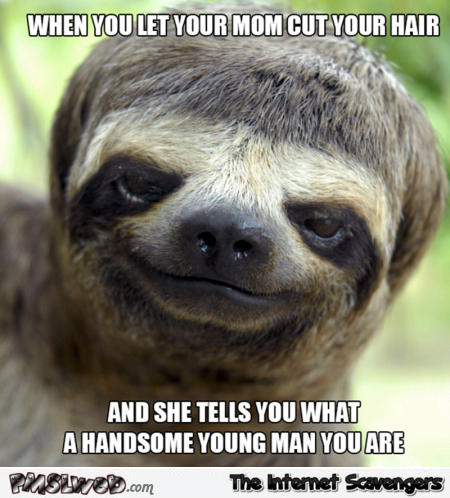 When your mum cuts your hair funny meme – Saturday humour @PMSLweb.com