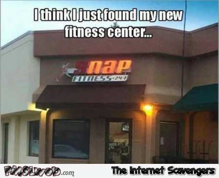 I just found my new fitness center meme @PMSLweb.com