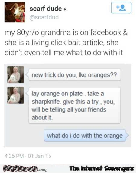 Funny grandma is a living clickbait article @PMSLweb.com