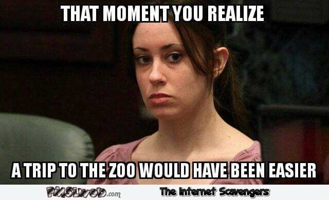 A trip to the zoo would have been easier politically wrong meme @PMSLweb.com