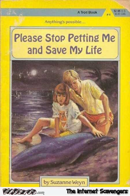 Please stop petting me funny book cover @PMSLweb.com