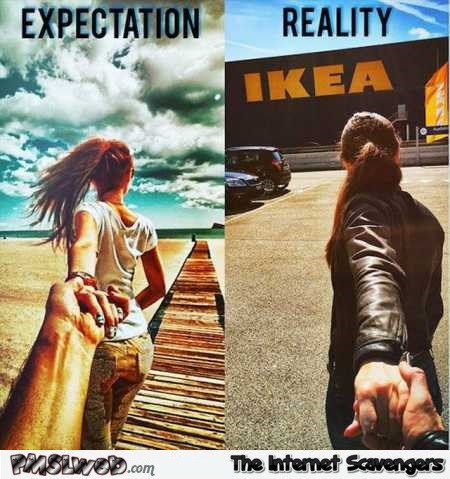 Come with me funny expectations versus reality @PMSLweb.com
