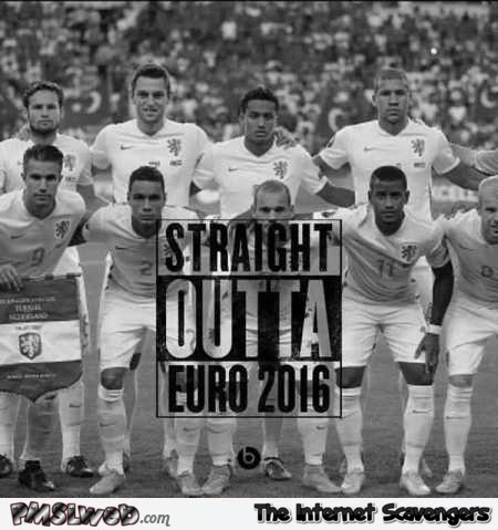 Netherlands straight outta Euro 2016 humor