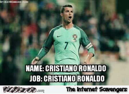Funny football pictures ronaldo