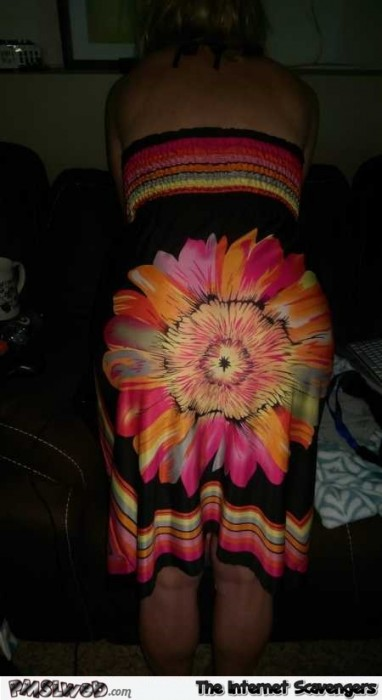 Hilarious dress design fail