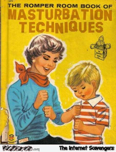 Funny romper room book of masturbation techniques @PMSLweb.com
