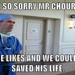 Two more likes and we could have saved him meme – Funny viral pictures PMSLweb.com