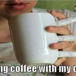 Having coffee with my crush funny meme – Funny Monday mocking @PMSLweb.com
