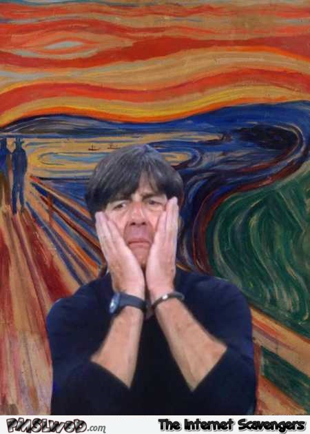 Funny Joachim Löw painting parody – Euro 2016 memes and funny pictures @PMSLweb.com