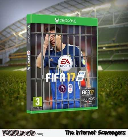 Funny FIFA 17 cover – Euro 2016 memes and funny pictures @PMSLweb.com